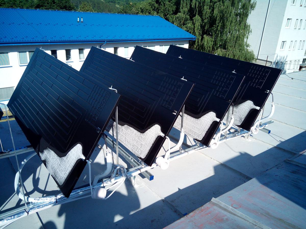 Ohrev TÚV prostredníctvom nevyužitého zostatkového tepla z výroby